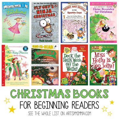 Christmas Books for Kids to Read on their Own