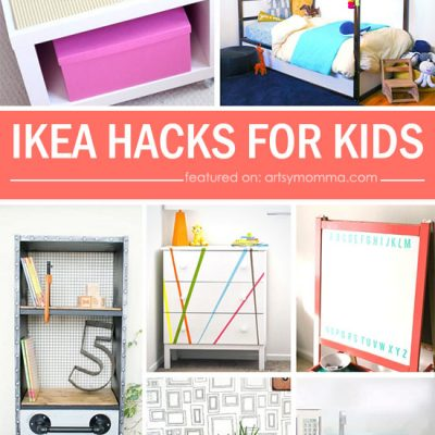 20 Clever Ikea Hacks for Kids Spaces