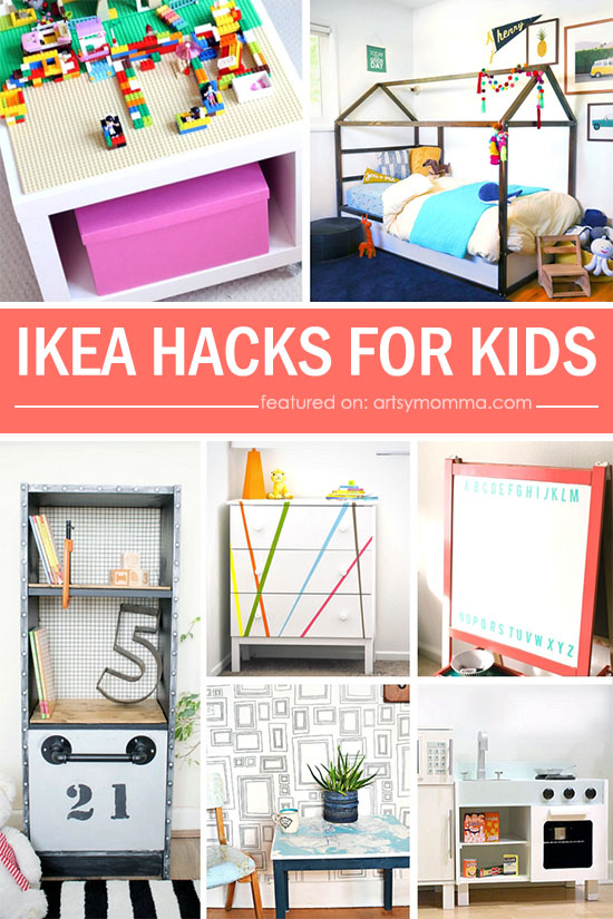 20 Clever IKEA Hacks For Kids