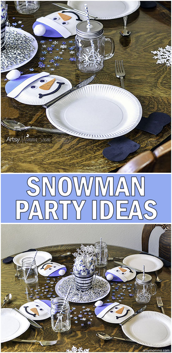 Fun Ideas for Throwing a Winter Snowman Party with Kids