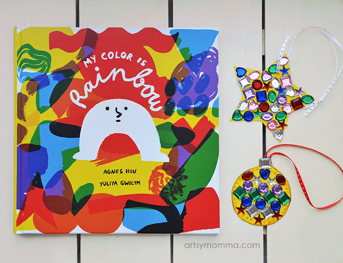 Colorful Jewel Ornament Craft Inspired By My Color is Rainbow Book