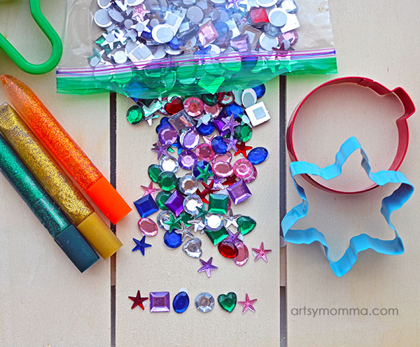 Rainbow Christmas Craft Supplies