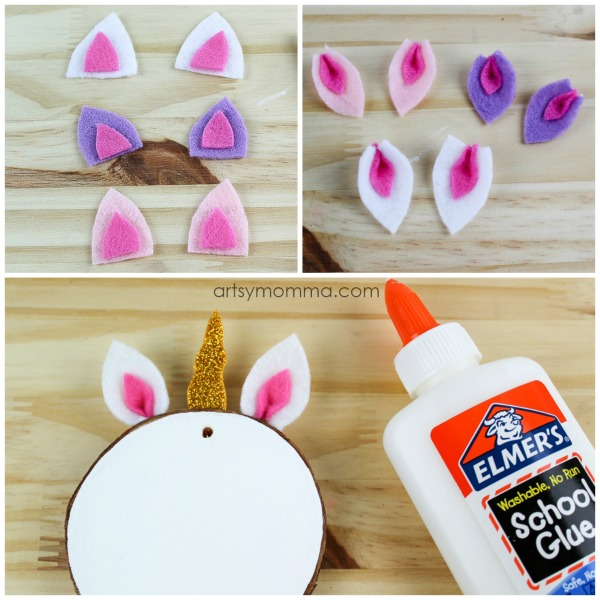 Tutorial for making the cutest Unicorn Ornaments