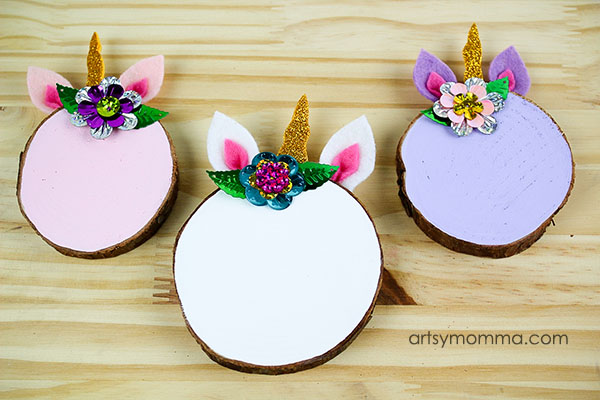 Simple DIY Unicorn Ornaments - Handmade Gift Idea