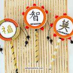 DIY Chinese Drum Craft Designs: Luck, Courage, & Wisdom