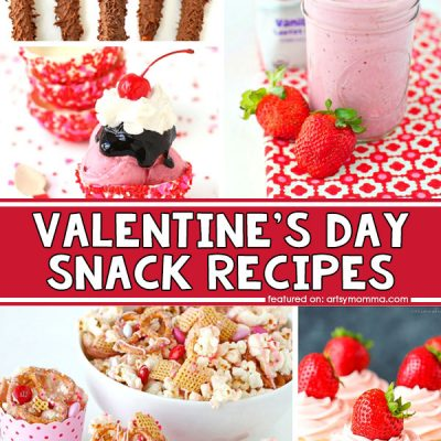 20 Cute and Easy Valentine's Day Snack Recipes