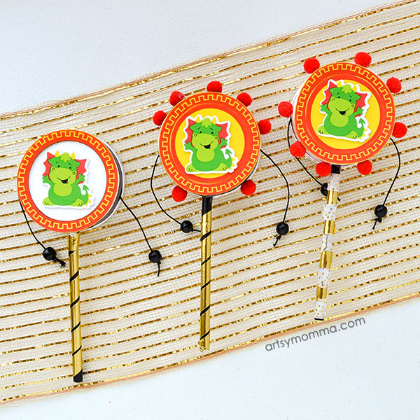 Chinese New Year Dragon Drum Kit & Decorating Ideas