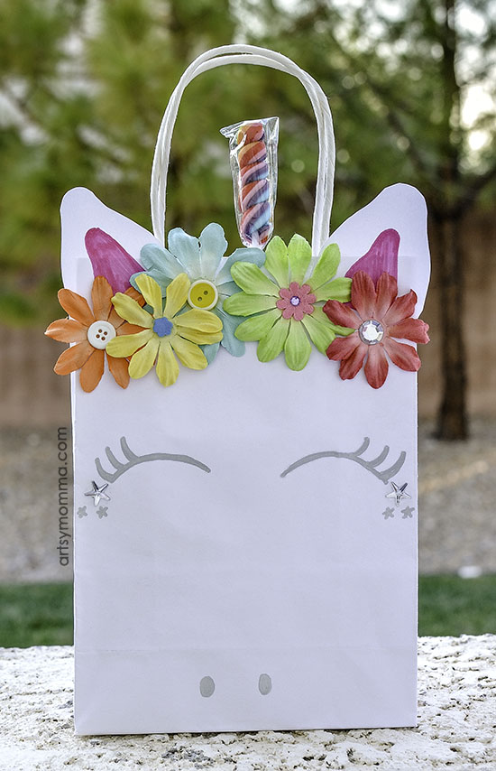 How to make Paper Unicorn Party Favor Bags