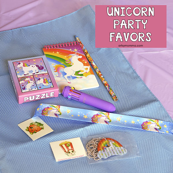 Rainbow Unicorn Party Favors And Supplies