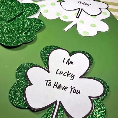 Printable Kindness Clovers – St. Patrick's Day Activity for Kids