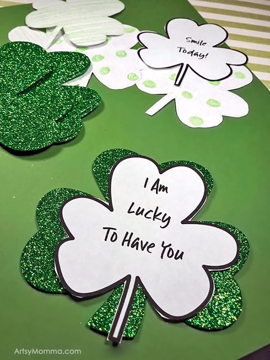 Kindness Clovers - Kids St. Patrick's Day Activity with Template Printable