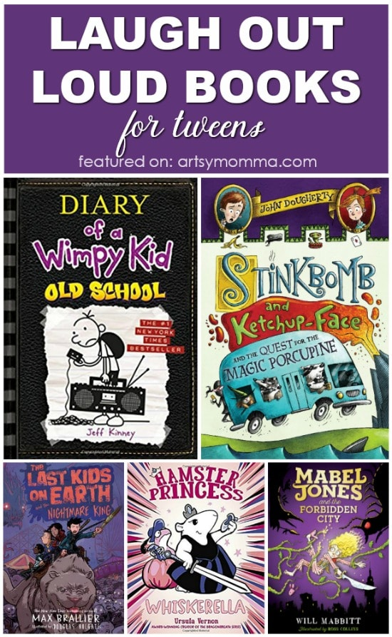 Laugh Out Loud Books for Kids Ages 8-12