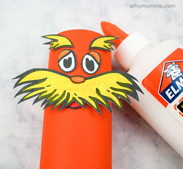 TP Tube Lorax Earth Day Craft