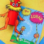 Celebrate Read Across America or Earth Day with a Fun Recycled Cardboard Tube Lorax Craft & The Lorax Book
