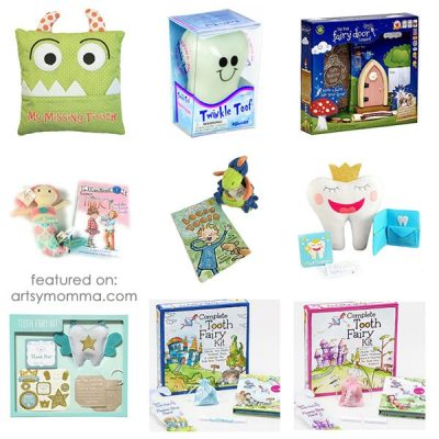 Make Lost Tooth Milestones Memorable with these Adorable Tooth Fairy Keepsakes