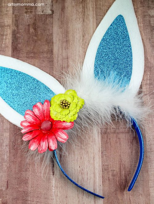 How to make the cutest Easter Bunny Ears Headbands for Kids