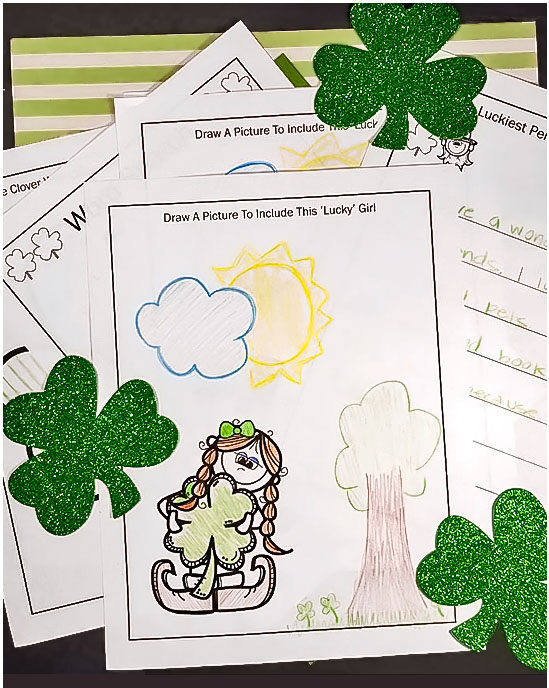 Free Printable St. Patrick's Day Activity Pack for Kids