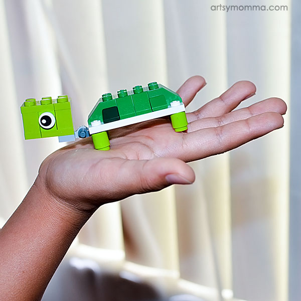 Cute Lego Turtle Challenge -Awesome Lego Creations Book Review