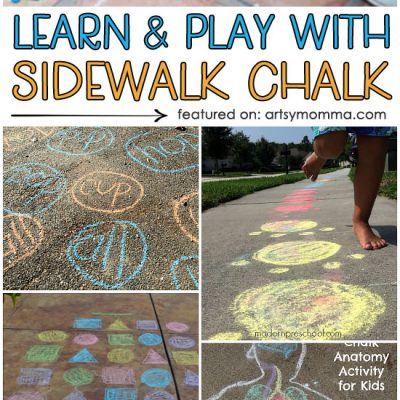 Creative Ways to Learn and Play with Sidewalk Chalk