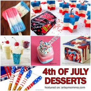Kids 4th Of July Party Recipes: Patriotic Desserts