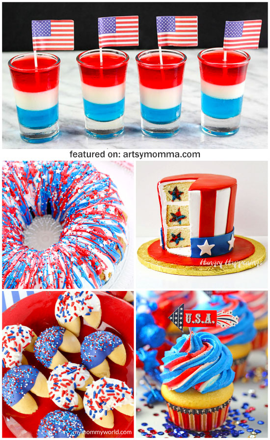 Creative Red, White, And Blue Dessert Recipes Kids Will Love!