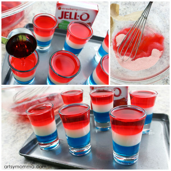 Step-by-step Layered Jello Tutorial