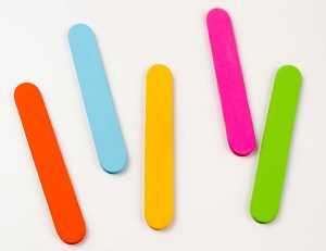 painted popsicle craft sticks