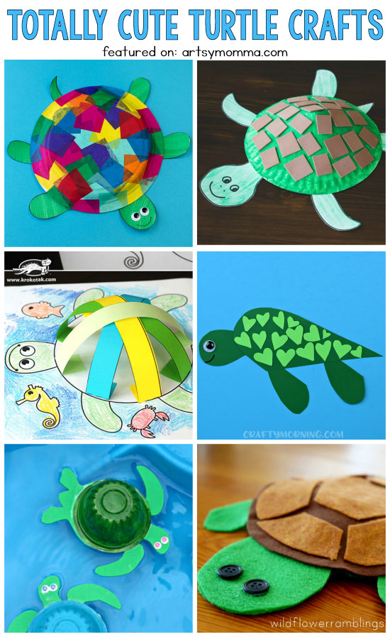 Totally Cute Turtle Crafts For Kids - Huge List!!