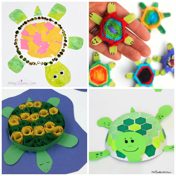 DIY Turtle Craft Projects For Kids Of All Ages