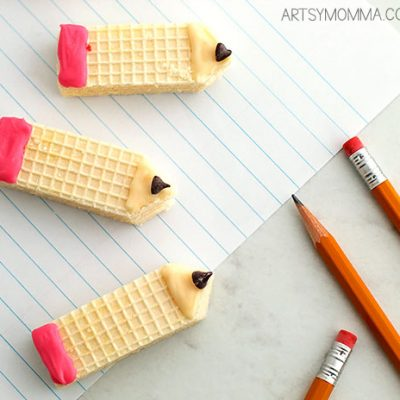 How To Make Pencil Shaped Wafer Cookies