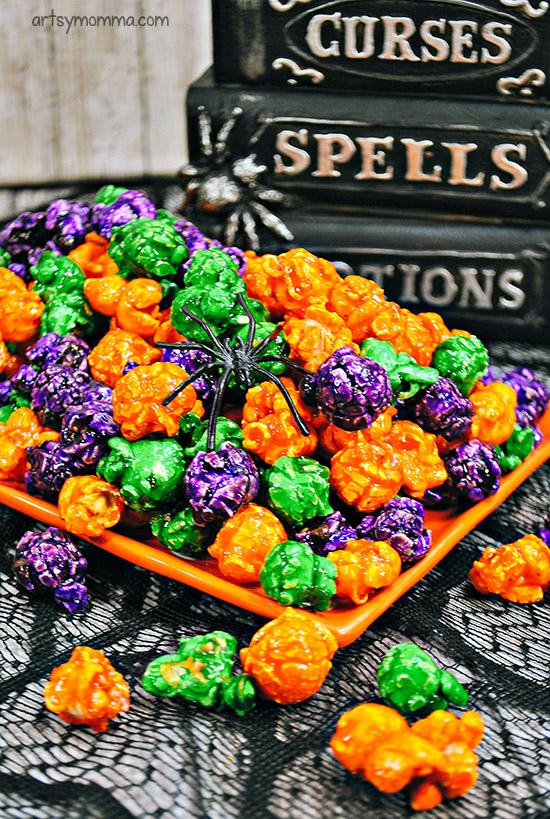 Halloween Popcorn Recipe For Kids Movie Night Snack