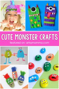 Adorable Monster Ideas For Halloween Or Just For Fun