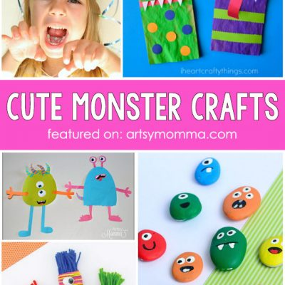 Lovable Monster Crafts For Kids