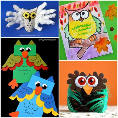 Cute And Easy Owl Craft Ideas For Kids Of All Ages!