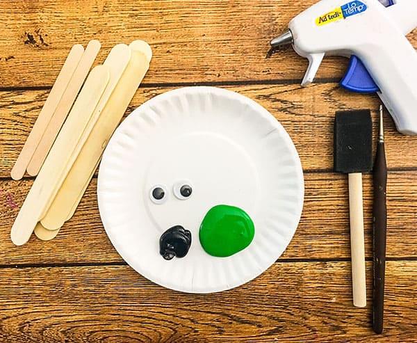 Supplies For Frankenstein Craft