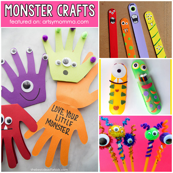 Cute Monster Ideas For Children