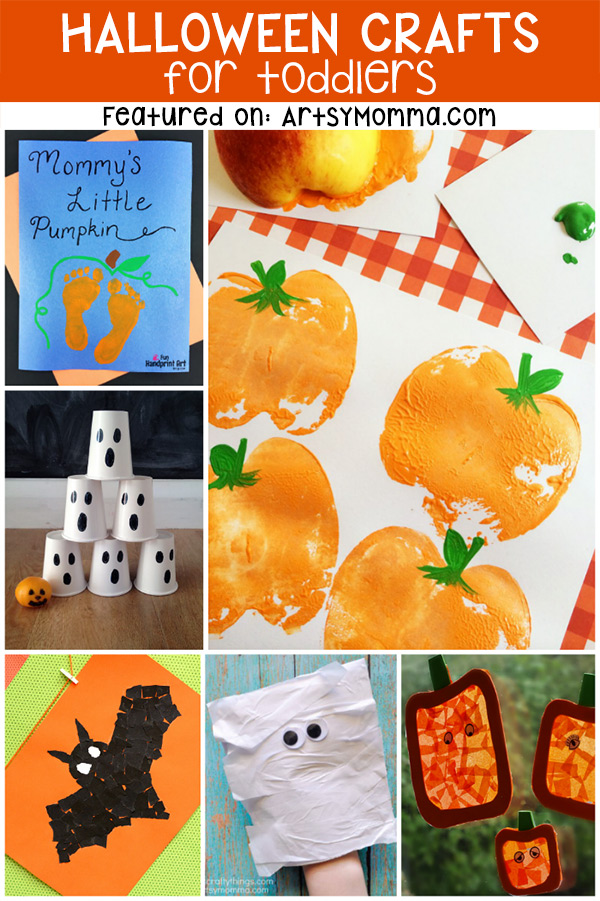 Toddler Halloween Crafts That Are Cute Artsy Momma