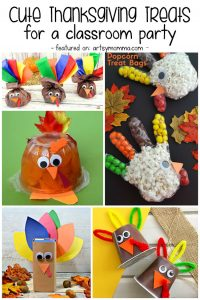 Crafty Classroom Treat Ideas For A Thanksgiving Party