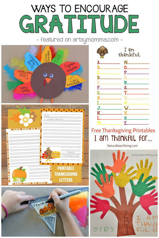 Encouraging Gratitude With Crafts And Activities