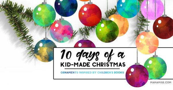 10 Days Of Book Inspired Ornaments