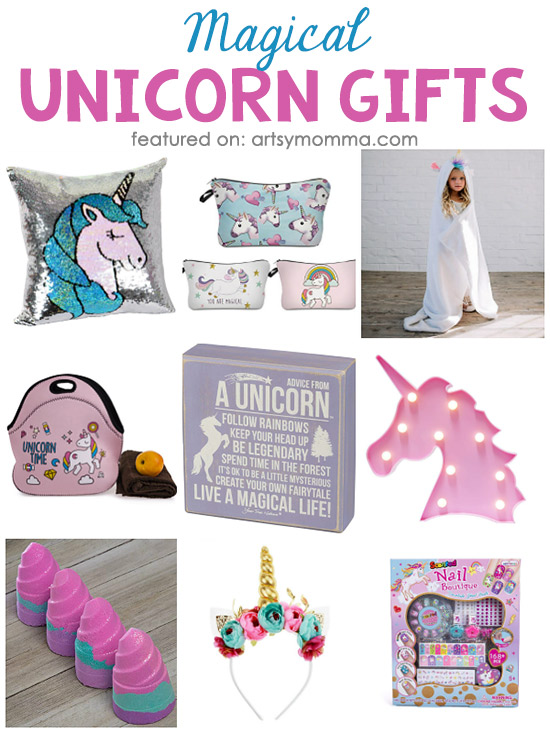 Magical Unicorn Gift Ideas for people who are obsessed with unicorns!
