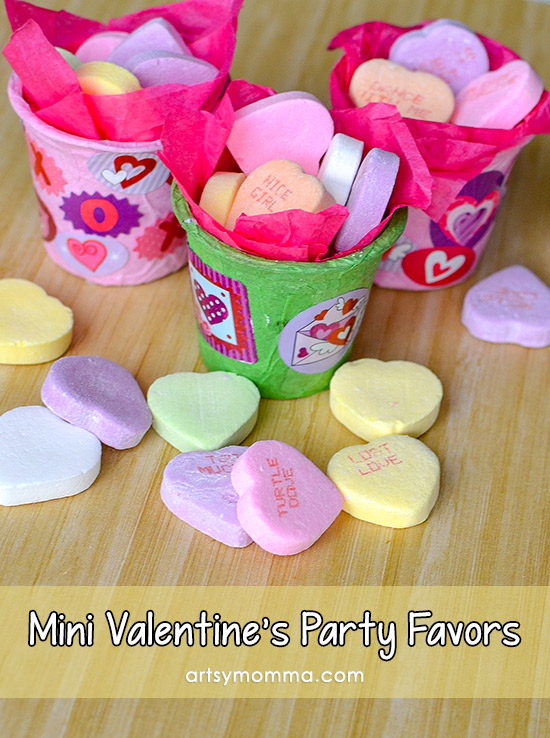 How To Make Mini Valentine Party Favors From K Cups