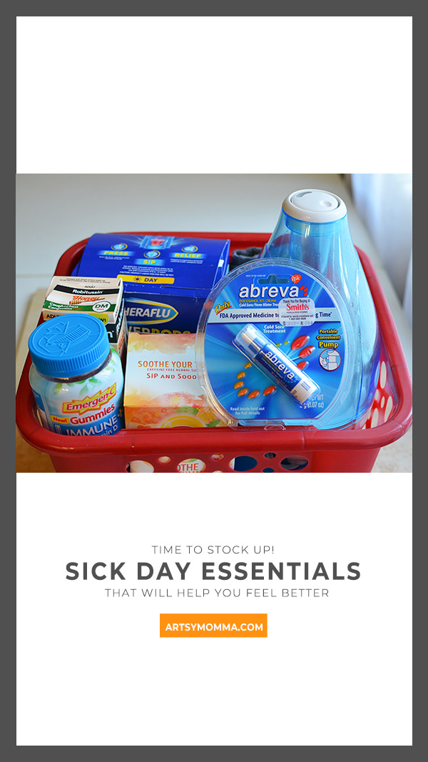 Products to have on hand for cold & flu season + more sick day tips for families