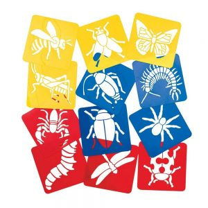Insect Stencils For Kids