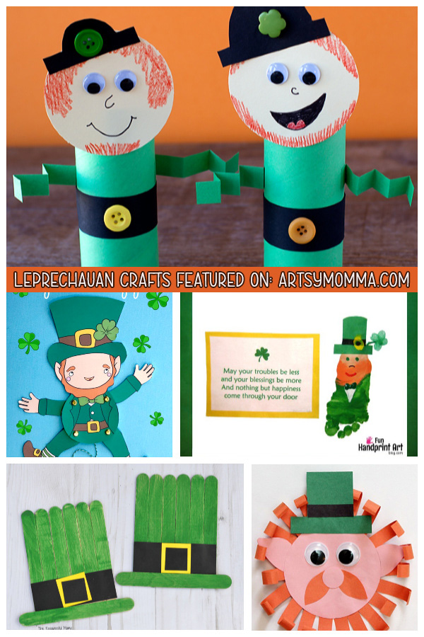 Leprechaun Arts and Crafts