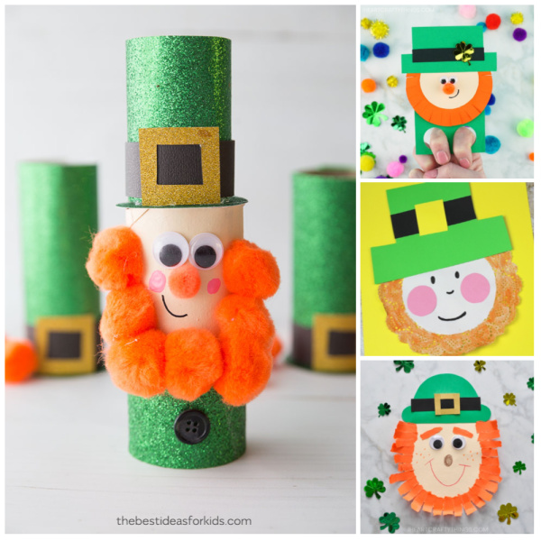 Playful & Fun Leprechaun Crafts For Kids To Make