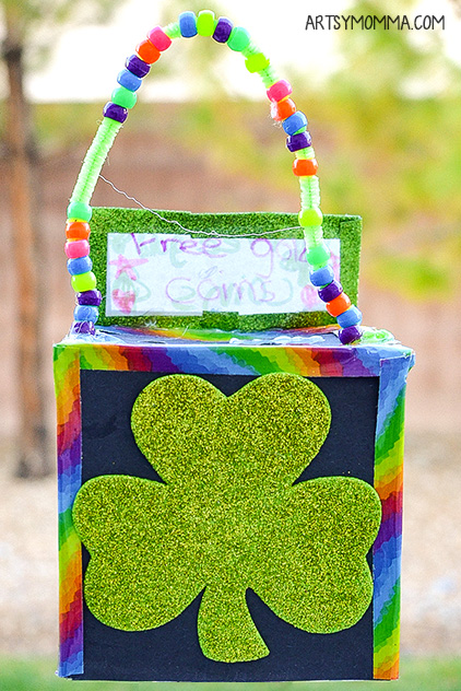 St. Patrick's Day Leprechaun Trap Craft For Kids