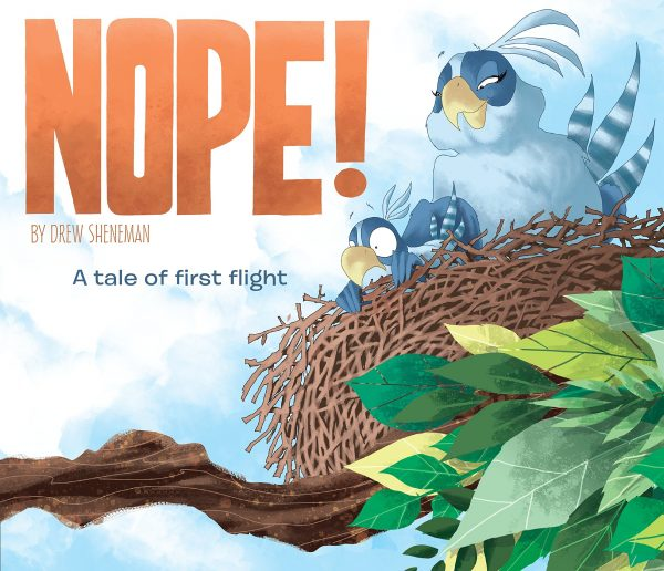 NOPE! Book about a baby bird for preschoolers