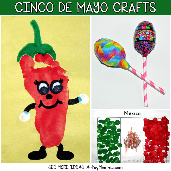 Kids Crafts For Cinco de Mayo