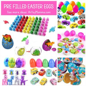Fun Ideas For Pre Filled Easter Eggs - - Non Candy Easter Basket Ideas